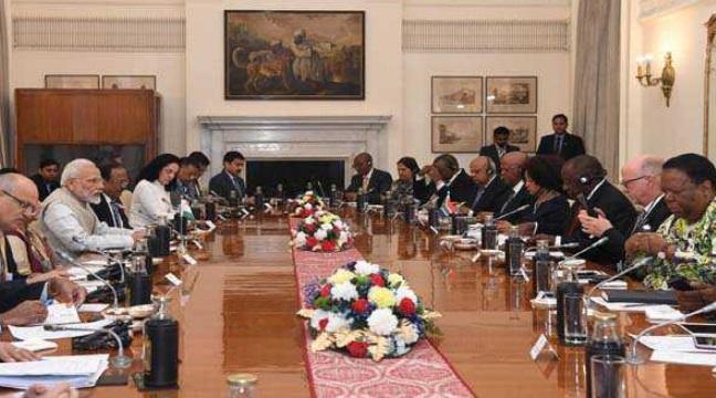 دفاع ، تجارت اور تعلیم کے شعبے میں ہندوستان اور جنوبی افریقہ کے مابین تعاون میں اضافہ