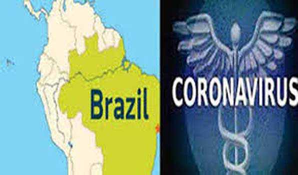 برازیل میں کورونا وائرس سے 21048 افراد ہلاک:وزارت صحت