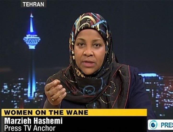 ایرانی ٹی وی اینکر امریکہ میں گرفتار