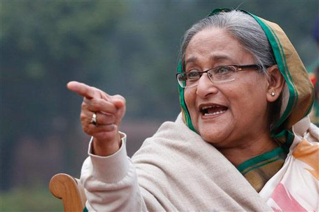 پاکستان کی بنگلہ دیش کے داخلی امور میں مداخلت کرنے کی کوشش: حسینہ