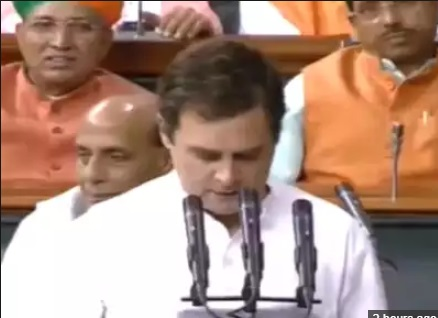 راہل گاندھی نے لوک سبھا کی رکنیت کا حلف لیا